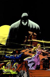 Batman autorstwa Neala Adamsa. © DC Comics