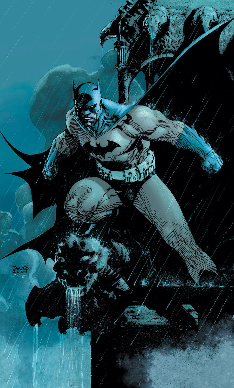 Batman by Jim Lee. © DC Comics