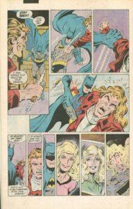 """Strona z """"Batman"""" #414. Autorzy: Jim Starlin oraz Jim Aparo. © DC Comics"""