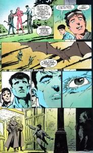 """Strona z """"Batman: The Cult"""". Autorzy: Jim Starlin oraz Bernie Wrightson. © DC Comics"""