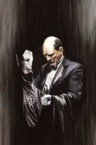 Alfred według Alexa Rossa. © DC Comics