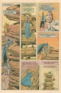 """Strona z """"Batman"""" #425. Autorzy: Jim Starlin oraz Jim Aparo. © DC Comics"""