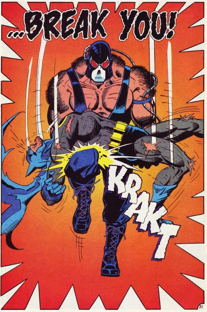 "Page from ""Batman"" #497. Dough Moench, Jim Aparo. © DC Comics"