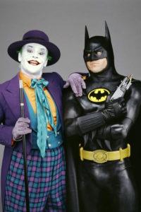 Jack Nicholson i Michael Keaton jako Joker i Batman. Źródło: filmweb.pl