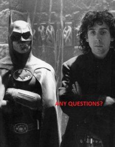 Michael Keaton i Tim Burton